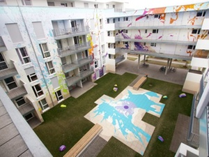 """Darmstadt: """"Farbexplosion"""" im Studentenwohnheim"""