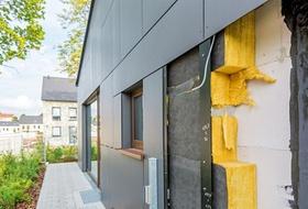 Fassade Dämmung Dämmplatten Energieeffizienz