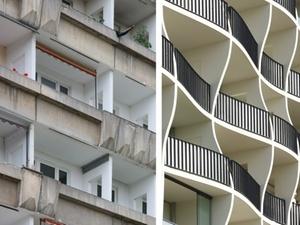 Aufwertung Plattenbau AIT Award Wohnungsbaugesellschaft Magdeburg