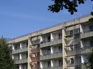 Sanierung: Neue Fassaden auf dem Sonnenstein