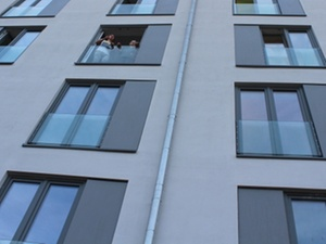 Wohnungswirtschaft: SBV-Studentenwohnanlage bezogen
