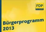 FDP Bürgerprogramm
