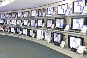 Fernsehgeräte in Saturn-Markt