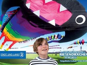 Tempelhofer Freiheit: Festival der Riesendrachen
