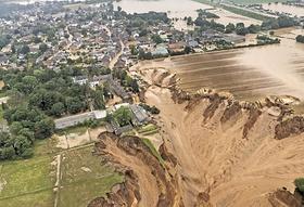 Flutbild Flutkatastrophe 2021 Dolinenloch