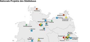 Städtebau: Nationale Projekte für Förderprogramm 2020 gesucht