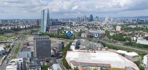 Frankfurt am Main: Grundstück nahe der EZB steht zum Verkauf
