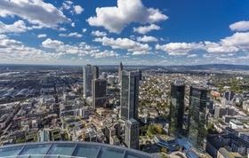 Frankfurt von oben