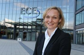 Frau Claudi Plath, Managing Director Finance ECE