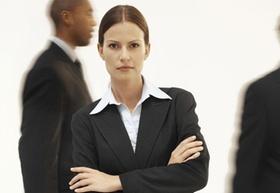 Frau Führungskraft