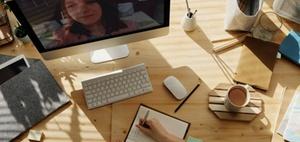 Mitarbeitende im Homeoffice eher produktiver