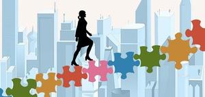DIW Managerinnen-Barometer: Frauenanteil Aufsichtsrat Vorstand