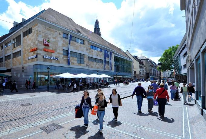 Dortmunder Westenhellweg meistbesuchte Einkaufsmeile Deutschlands
