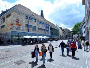 Freiburg unter Spitzenreitern bei Einzelhandelsmieten