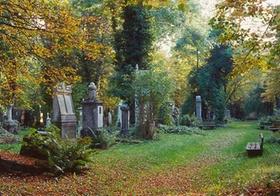 Friedhof im Herbst