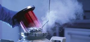 Einlagerung kryokonservierter Ei- und Samenzellen
