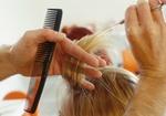Frisör, Haare schneiden
