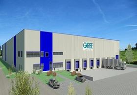 Garbe Logistikzentrum Rudolph Gruppe Gudensberg