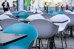 Gastronomie Innenstadt Stühle leer
