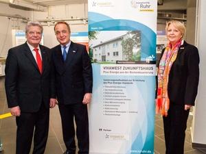 Bottrop: Bundespräsident besucht Vivawest