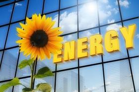 Gebäude Energy Sonnenblume