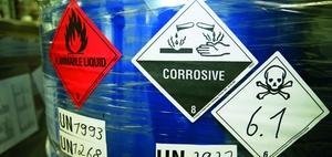 Umweltkatastrophen durch giftige Industrie-Abfallstoffe