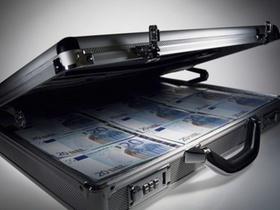 Geldkoffer schwarz