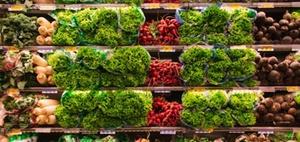 Einheitsbewertung eines Lebensmittelselbstbedienungsmarkts