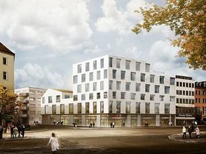 Geschäftshaus Tela 64 in München nimmt Form an