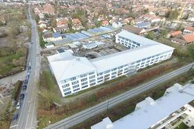 """Gewerbekomplex """"Network Perlach"""" in München"""