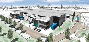Alpha Industrial setzt Bau im Gewerbepark Obertshausen fort