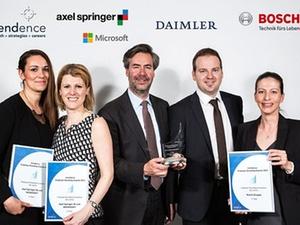 Employer Branding Award 2015 an acht Unternehmen