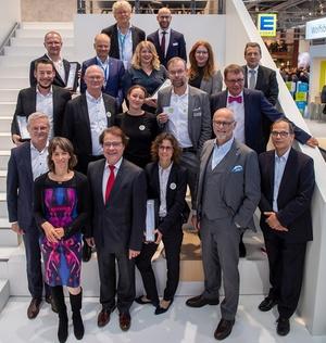 Gewinner und Jury des Immobilien-Marketing-Award 2019