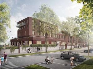 Projekt: Gewoba baut 51 Wohnungen in Bremen-Huckelriede