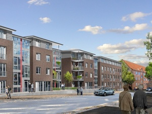 Barrierearmes Bauen: Gewoba Nord baut 83 Wohnungen in Kiel