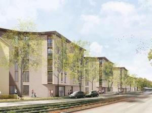 Projekt: Gewofag baut 115 Wohnungen in München