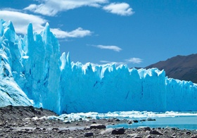 Gletscherabbruch, Perito Moreno Gletscher, Argentinien