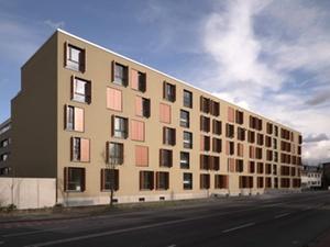 Architekturpreis: Wohnungsunternehmen Plakette