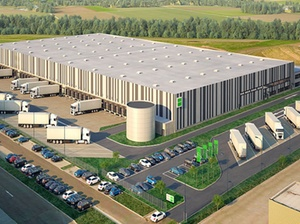 Goodman entwickelt Logistikimmobilie für Logwin