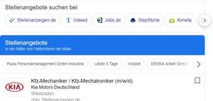 Google for Jobs: Eine Box mischt die Jobsuche auf