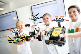 Google Schulungszentrum Kinder