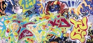 Graffiti sind normalerweise kein Mangel
