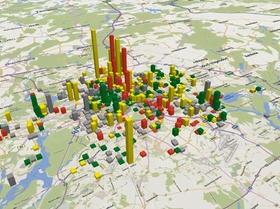Grafik Realisierbarkeit der Wohnbauprojekte in Berliner Baulücken