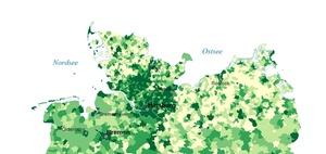 Strukturpolitik ländlicher Raum: BBSR aktualisiert Inkar