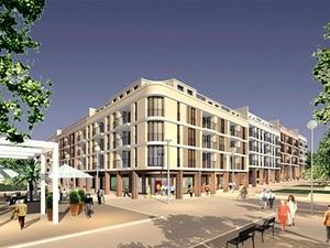 """Einkaufszentrum """"Gravensteiner Platz"""" in Frankfurt wird gebaut"""