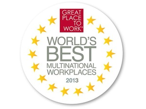 """Preisverleihung: Wettbewerb """"Beste Arbeitgebern weltweit 2013"""""""