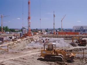 Baubranche in Deutschland im Aufwind