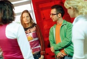 Gruppe junger Leute