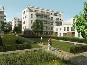 Projekt: GWW feiert Richtfest für 120 Wohnungen