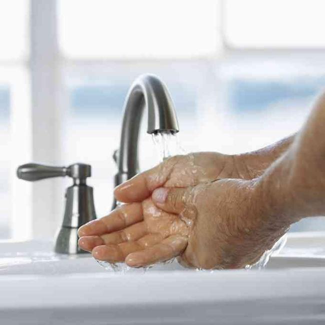 hygiene wie lange dauert richtiges h ndewaschen arbeitsschutz haufe. Black Bedroom Furniture Sets. Home Design Ideas